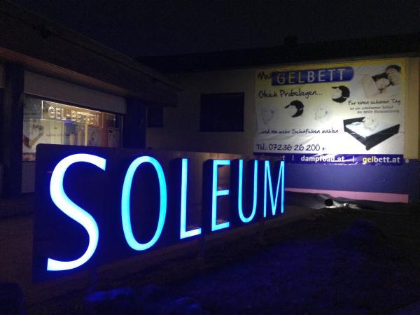 Impressum Soleum GmbH